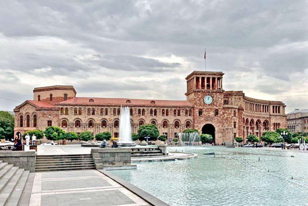 Площадь Республики в Ереване