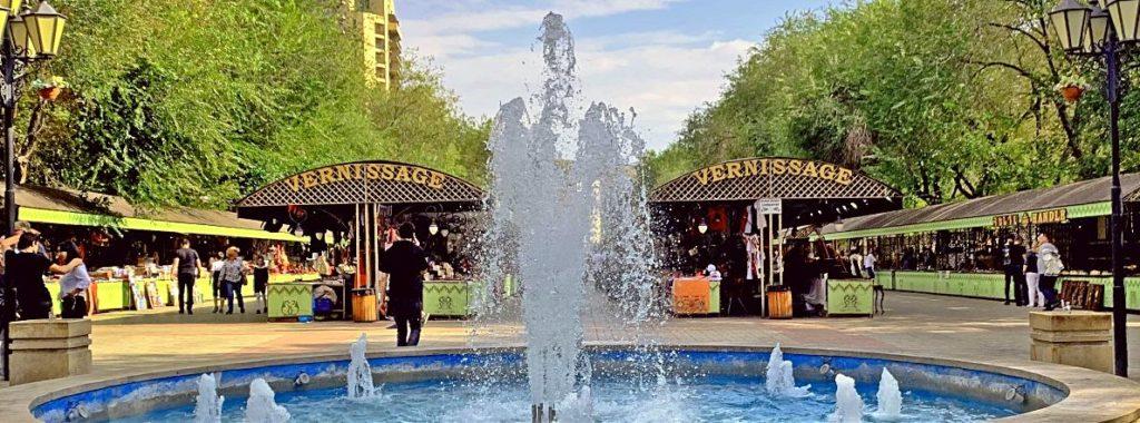 Вернисаж в Ереване как добраться