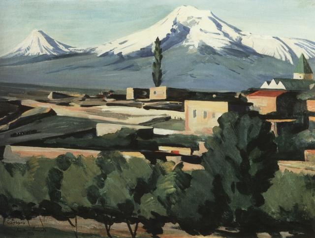 Мартирос Сарьян - армянский художник