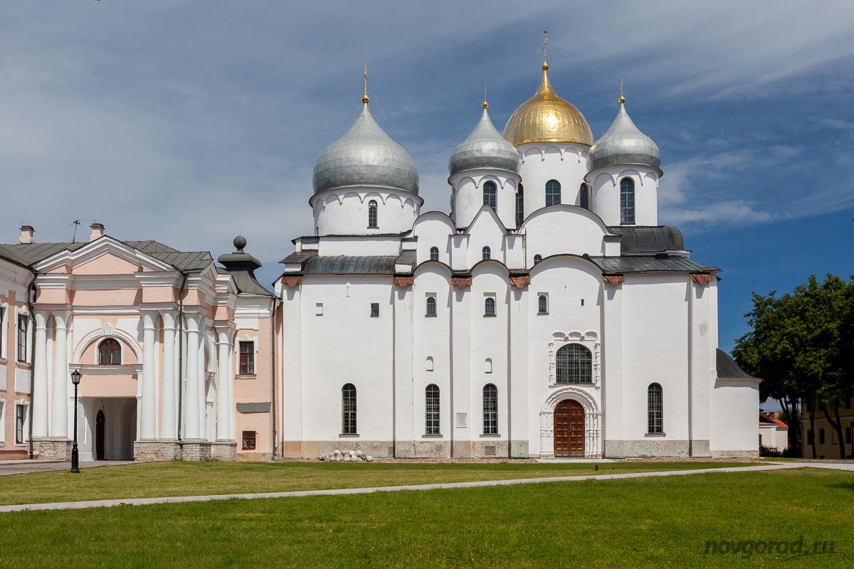 Софийский собор на экскурсии по Новгороду