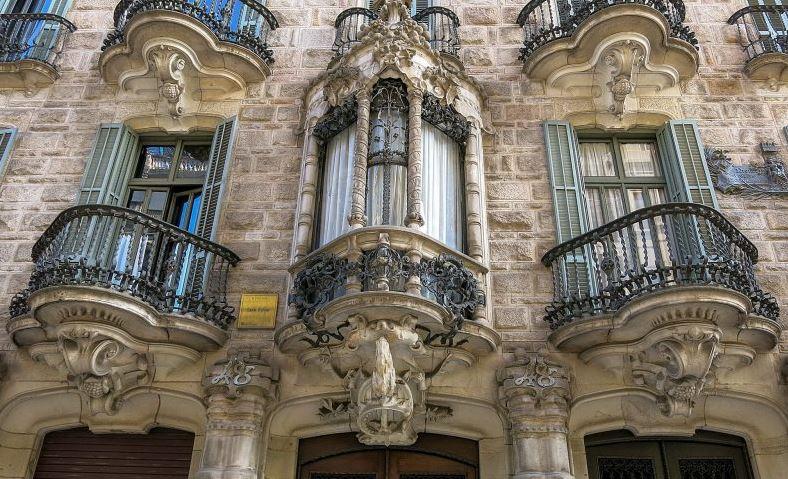 по Барселоне с Гауди прогулка