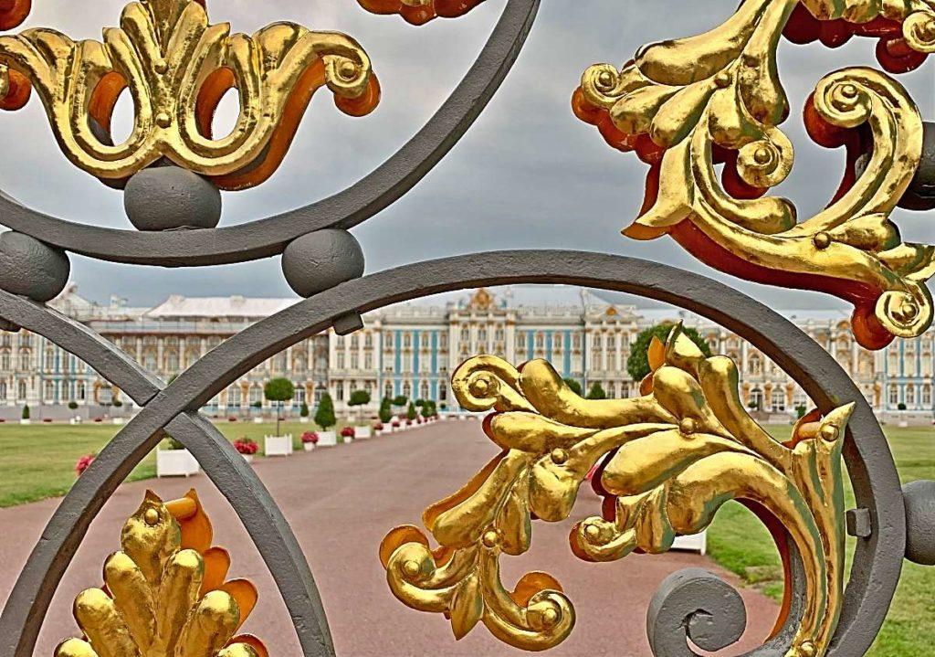 Золотые ворота в Царском Селе