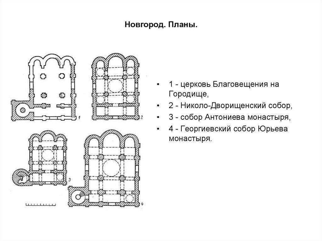 Архитектура Новгорода 12 век экскурсия