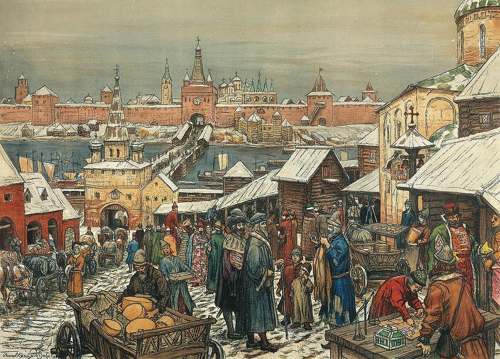 Каким был Новгород в картинах русских художников