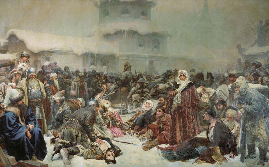 Кратко об истории Великого Новгорода с картинами художников