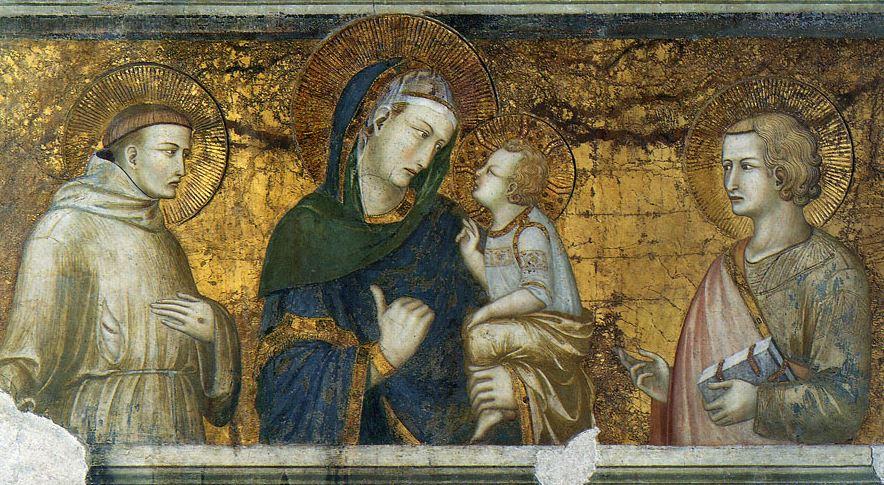 Мадонна заката Лоренцетти в Ассизи