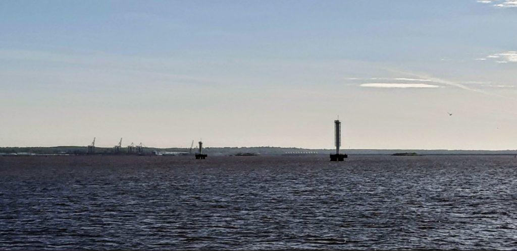 Финских залив близ Кронштадта